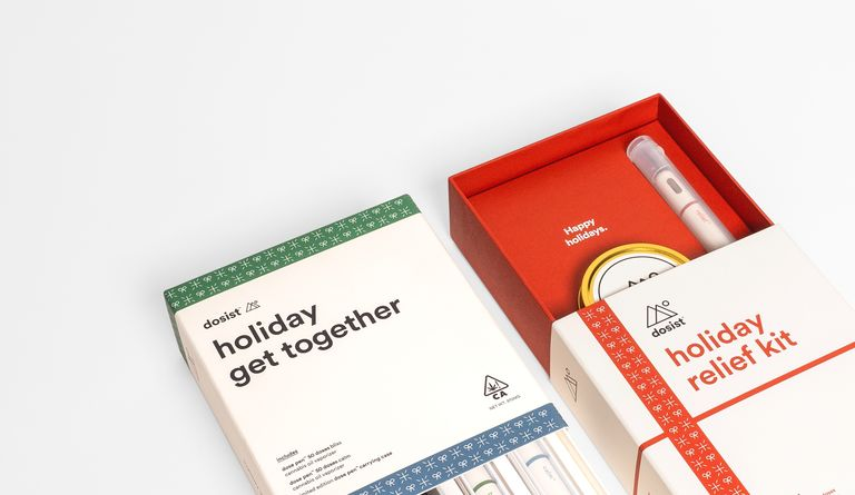 Using pre-existing artwork, Uneka helped dosist prepare for the holiday season with environmentally friendly Holiday Kits made from recyclable materials.